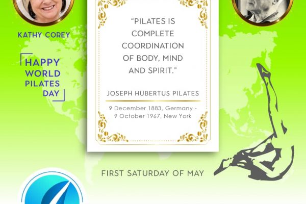 Let's beat COVID-19 and Celebrate World Pilates Day Together!